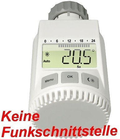 heizungsthermostat elektronisch wei. Black Bedroom Furniture Sets. Home Design Ideas