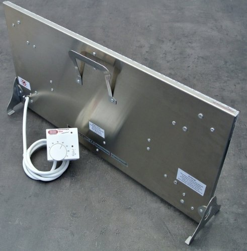 infrarotheizung marmorheizung elektroheizung standheizkrper magmaheizung 400 watt 04gb610sr mit. Black Bedroom Furniture Sets. Home Design Ideas