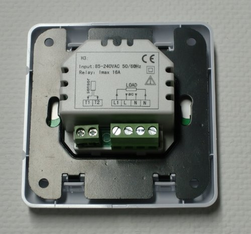 sm pc raumthermostat thermostat programmierbar touchscreen 832 digital weisse. Black Bedroom Furniture Sets. Home Design Ideas