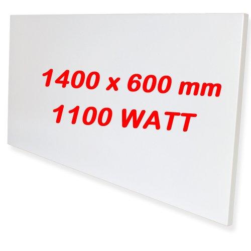 tectake infrarotheizung 1100 watt elektroheizung infrarot heizkrper ir heizung inkl wand und. Black Bedroom Furniture Sets. Home Design Ideas