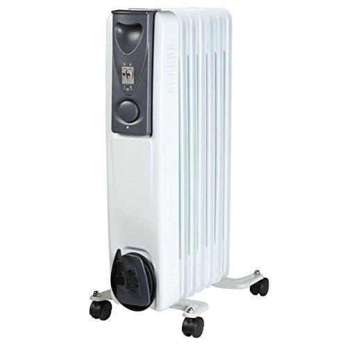 moderner klassicher l radiator 7 rippen elektro heizung 15 kw mobile elektroheizung auf rollen. Black Bedroom Furniture Sets. Home Design Ideas