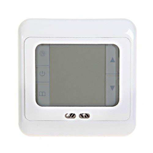 2x btsky elektrisch digital raumthermostat tempraturregler thermostat mit lcd touchscreen. Black Bedroom Furniture Sets. Home Design Ideas