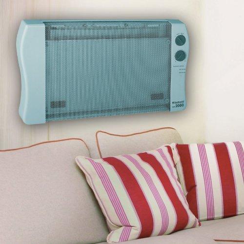 einhell w rmewellen heizung ww 2000 2000 watt mica heizelement 2 heizstufen thermostat. Black Bedroom Furniture Sets. Home Design Ideas