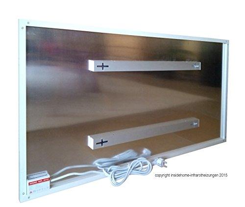 infrarotheizung aluminiumpaneele mit bild 600 watt motiv kaminfeuer. Black Bedroom Furniture Sets. Home Design Ideas